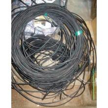 Оптический кабель Б/У для внешней прокладки (с металлическим тросом) в Чите, оптокабель БУ (Чита)